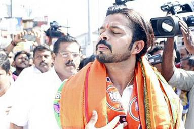 Fun tweets over Sreesanth's campaign image in Kerala
