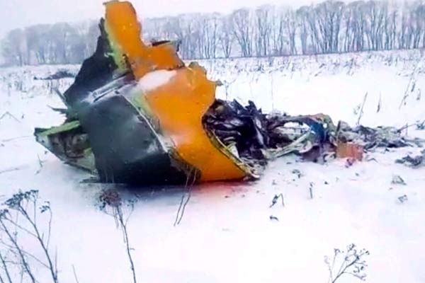Russian Passenger Plane Crashes, all 71 on board killed